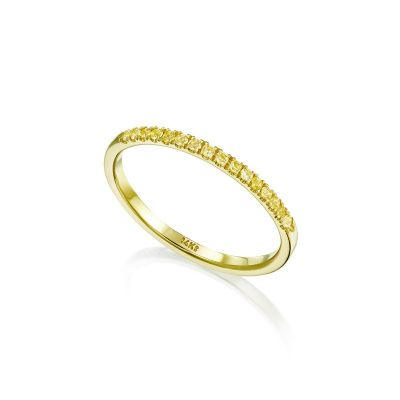 Mika Yellow Ring