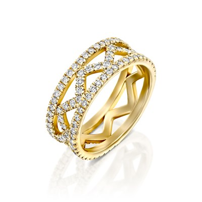 Liat Yellow gold ring