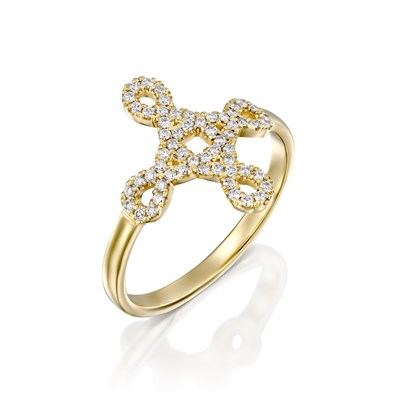 Keren Yellow gold Ring